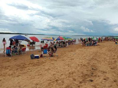 Cero protocolo sanitario en playa ayolense