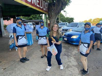 Desirée Masi llama la atención a Kattya González por no usar tapabocas