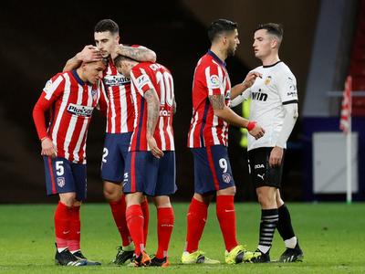 Atlético Madrid escapa de sus seguidores