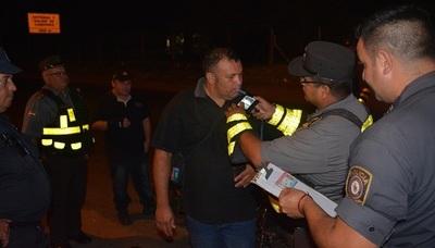 La Caminera sacó de las rutas a 485 conductores alcoholizados