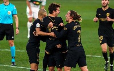 Barcelona gana a Elche y escala en LaLiga
