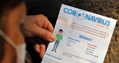 Coronavirus: 10 fallecidos, 571 positivos y 819 hospitalizados