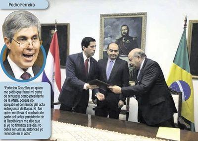 En Senado ponen en duda acuerdo para que González comande Itaipú