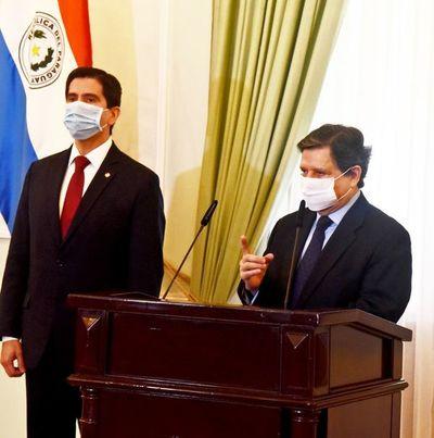 "Ríos considera ""inadmisible"" prestar acuerdo para Federico González en Itaipú"