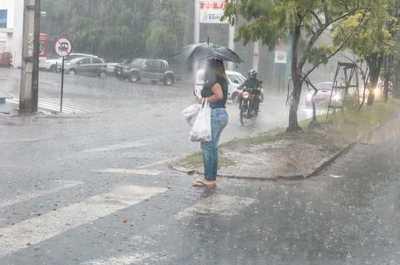 Meteorología pronostica un día caluroso con precipitaciones y tormentas