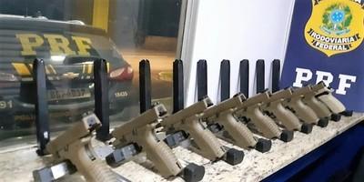 Decomisan en BRASIL armas COMPRADAS en Ciudad del Este