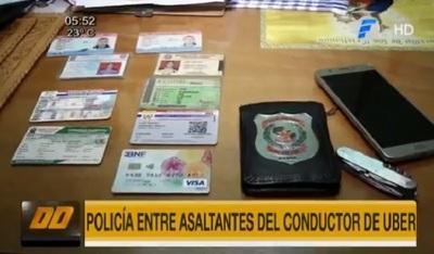 Policía es detenido ofreciendo automóvil de Uber robado