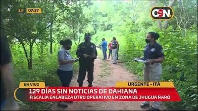 Comitiva utiliza canes para buscar a Dahiana Espinoza en Itá