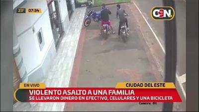 Violento asalto a una farmacia en Ciudad del Este