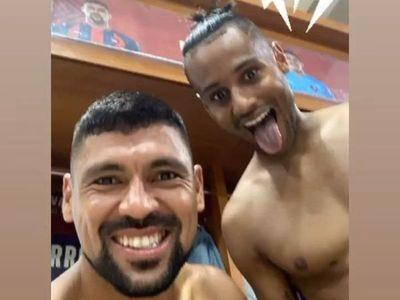 Mateus Gonçalves entrenó por primera vez en Cerro Porteño