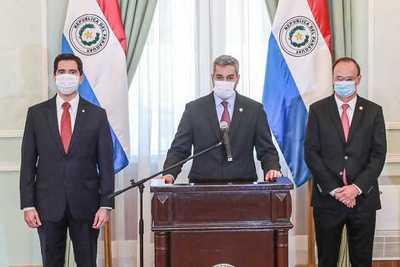 Abdo sale al paso de críticas y defiende designación de Federico González