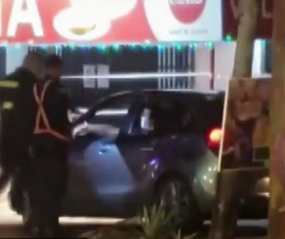 Intentaron huir de control policial en San Ber pero fueron detenidos