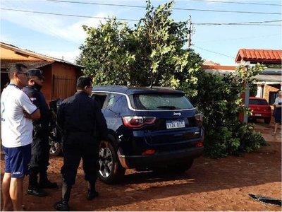 Vehículo de policía asesinado habría sido robado en Brasil, presumen