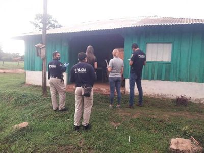 Allanan viviendas en caso de abuso y crimen de joven en Coronel Oviedo