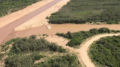 Buscan que más caudal del Pilcomayo ingrese al país