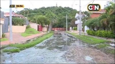 Itá Enramada: Denuncian constantes pérdidas de aguas residuales