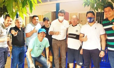 Efraín estuvo con postulantes a la Junta, que apoyan a Iván Airaldi – Diario TNPRESS