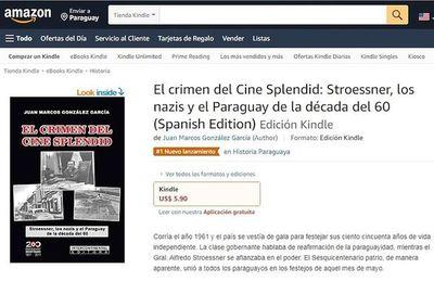 Libros paraguayos en el Kindle