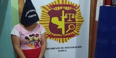 ENCARNACIÓN: DETIENEN A MUJER CON ORDEN DE CAPTURA POR SUP. HURTO DE JOYAS