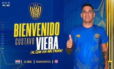 HOY / Luqueño oficializa la llegada de Gustavo Viera