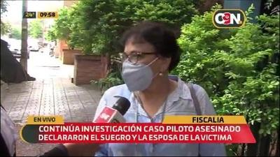 Continúa investigación del asesinato del piloto en Mariano R. Alonso