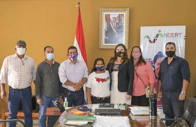 Indert impulsa solución a favor de pobladores de Culantrillo, Caaguazú