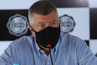 Olimpia no mejorará oferta por Salcedo, confirma Brunotte