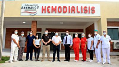 Habilitan primera sala de hemodiálisis en Ñeembucú