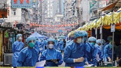 Hong Kong promulgó un segundo bloqueo para las pruebas de Covid