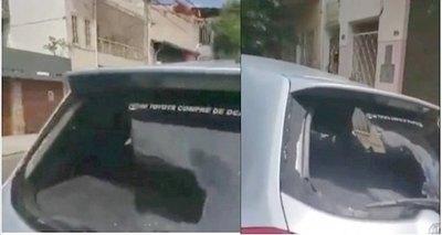 Crónica / Justicia he'i: destruyó auto de su cuerno ra'e