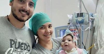 La Nación / Llegó el gran día: hoy Bianca recibe la vacuna para combatir la atrofia muscular espinal
