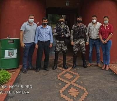 Grupo LINCE; llega a Yhú – Prensa 5
