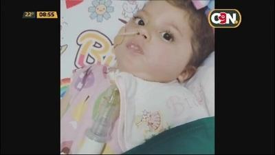 Bianquita ya recibió la vacuna zolgensma en el Hospital Acosta Ñu