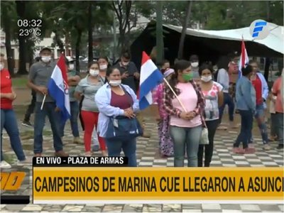 Campesinos se movilizan tras veto a ley de Marina Cué