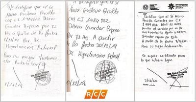 Falsifican firma de Directora de la XVI Región Sanitaria de Boquerón