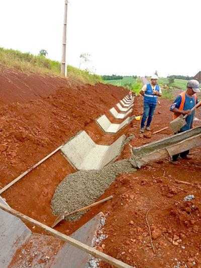 Obras del Corredor de la Exportación entre Alto Paraná e Itapúa registran importantes avances