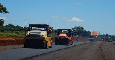 La Nación / Avanzan obras del corredor de la exportación que unirá Alto Paraná e Itapúa