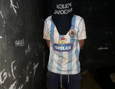 Detienen a presunto delincuente en Franco