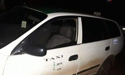 Incautan automóvil de taxista que conducía borracho