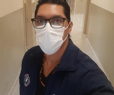 Médico con Covid-19 pide a la ciudadanía extremar cuidados