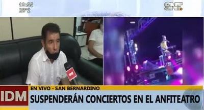 Suspenden todos los conciertos en San Bernardino