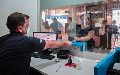 500 viajeros sin test Covid podrían pagar multa de G. 8.400.000