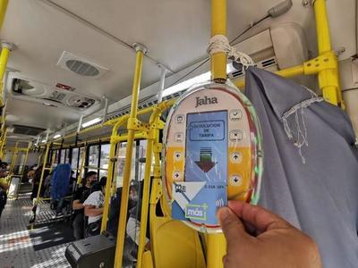 Pasaje electronico; Jaha y Más pusieron a disposición 200.000 tarjetas para usuarios – Prensa 5