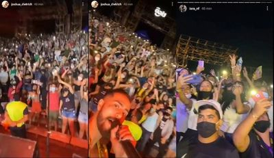 Oficialmente Comuna de San Bernardino suspende conciertos masivos