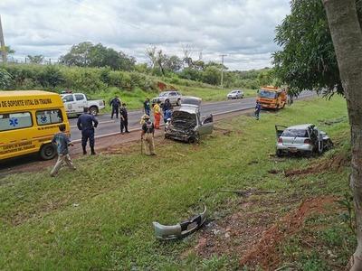 Accidente de tránsito en Chirkaty – Prensa 5
