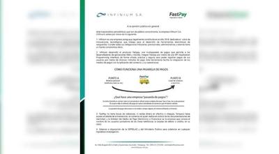 HOY / Empresa de Trovato se pone a disposición de Seprelad y Fiscalía
