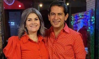 """Esposa de Carlos Báez asegura: """"Lo verán y escucharán en otro medio"""""""