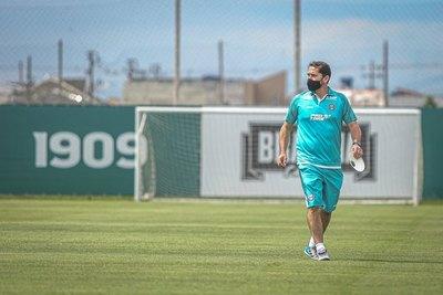 Recuperado del COVID, Morínigo vuelve a los entrenamientos de Coritiba