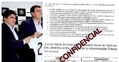 La Nación / Apostala y sus vínculos con narcos, según reporte confidencial