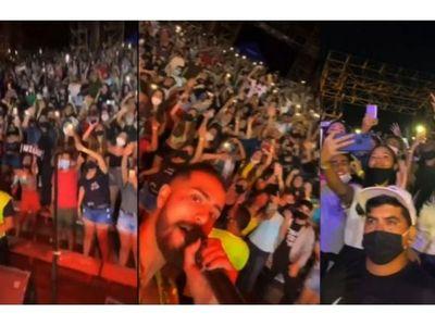 Comuna suspende  conciertos masivos en San Bernardino